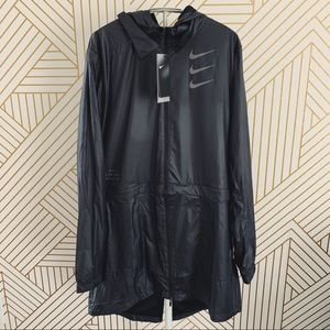 Nike Black Triple Swoosh Woven Jacket